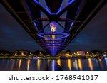 Night Under The Bridge  Cracow.