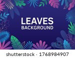 bushes  plants and herbs...   Shutterstock .eps vector #1768984907