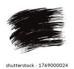 black vector brushstroke...   Shutterstock .eps vector #1769000024