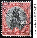 south africa   circa 1926  a... | Shutterstock . vector #176906114