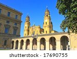 the scenery at the residenz and ... | Shutterstock . vector #17690755