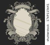 vintage victorian heraldry with ...   Shutterstock .eps vector #1769115641