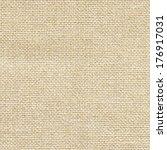 clean burlap texture | Shutterstock . vector #176917031