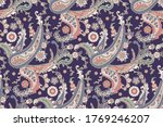 seamless trendy background with ... | Shutterstock .eps vector #1769246207