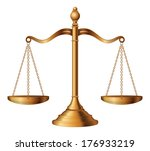 scales of justice is an... | Shutterstock .eps vector #176933219
