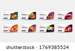 autumn sale and discount week ... | Shutterstock .eps vector #1769385524