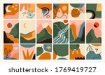 big set of abstract backgrounds.... | Shutterstock .eps vector #1769419727