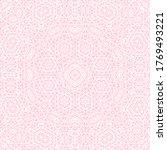 pink white geometric delicate... | Shutterstock .eps vector #1769493221