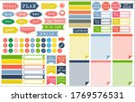 set of monthly planner and to... | Shutterstock . vector #1769576531