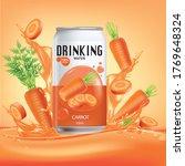 carrot  and design of carrot... | Shutterstock .eps vector #1769648324