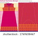 salwar kameez artwork for ready ... | Shutterstock .eps vector #1769658467