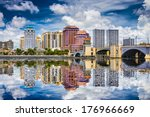 west palm beach  florida  usa... | Shutterstock . vector #176966669