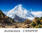 Himalayas Mountain Landscape....