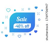 40 percent off sale discount on ...