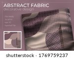 abstract silk scarf design in...   Shutterstock .eps vector #1769759237