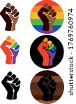 symbol of the lgbt community  a ... | Shutterstock .eps vector #1769760974