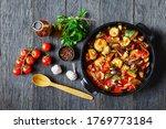 vegetable stew  eggplant  onion ...