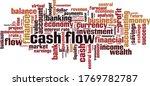 cash flow cloud concept.... | Shutterstock .eps vector #1769782787