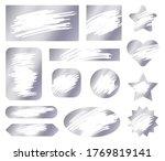 scratch card. vector texture.... | Shutterstock .eps vector #1769819141