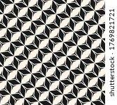 vector monochrome geometric... | Shutterstock .eps vector #1769821721