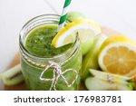 Fresh Organic Green Smoothie...