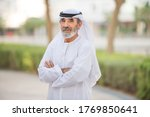 Arabian Senior Man With...