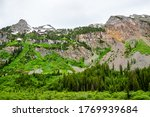 Landscape View Of Mountain Pea...