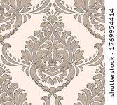 damask seamless pattern element.... | Shutterstock .eps vector #1769954414