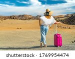 girl stand in a white shirt and ... | Shutterstock . vector #1769954474