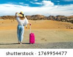 girl stand in a white shirt and ... | Shutterstock . vector #1769954477