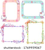 festive frames for photos ...   Shutterstock .eps vector #1769959067