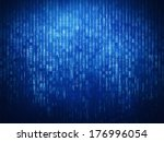 binary code background | Shutterstock . vector #176996054