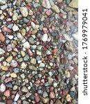 Multi Colored Pebbles Near...