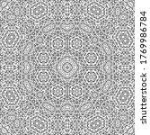 black and white geometric... | Shutterstock .eps vector #1769986784