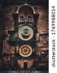 Astronomical Clock Closeup In...