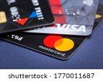 Mastercard And Visa Plastic...