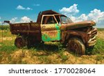 Old Rustic Chevy Farm Truck...