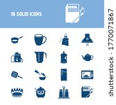 kitchenware icon set and...