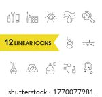 beauty icons set with...