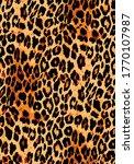 animal skin pattern seamless. ... | Shutterstock .eps vector #1770107987