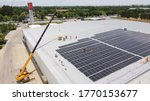 Solar Panels Installed On A...