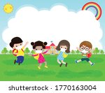 back to school for new normal... | Shutterstock .eps vector #1770163004