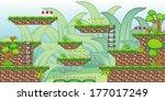 tile set platform for game   a... | Shutterstock .eps vector #177017249