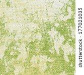 Green Grunge Background   Old...