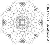 Easy Mandalas Pattern Adult...