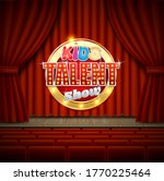 theatrical stage with kids...   Shutterstock .eps vector #1770225464