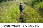 beautiful  girl tourist with... | Shutterstock . vector #1770239147