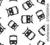 metro icon in flat style. train ... | Shutterstock .eps vector #1770255914