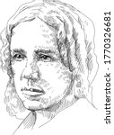 """Maria Mitchell - American astronomer who discovered in 1847, using a telescope, a comet known as the """"Miss Mitchell Comet."""" She was the first American to work as a professional astronomer."""