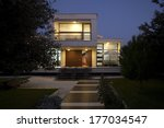 new architecture  beautiful... | Shutterstock . vector #177034547